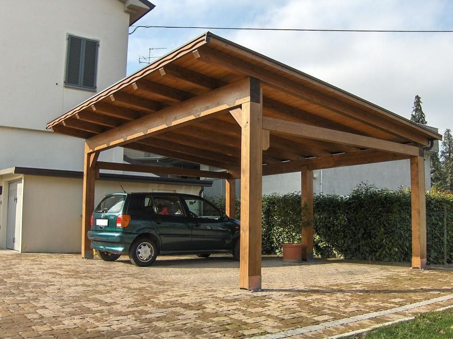Preventivo tettoia legno online habitissimo for Idee di garage per auto