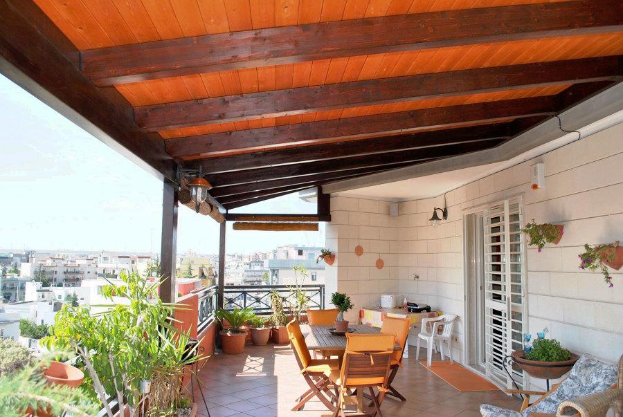 Consigli e prezzi online per tettoie in legno habitissimo - Cucina sul terrazzo ...