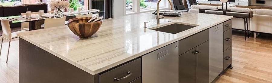 Rinnovare la cucina trucchi e prezzi habitissimo - Top cucina marmo prezzi ...