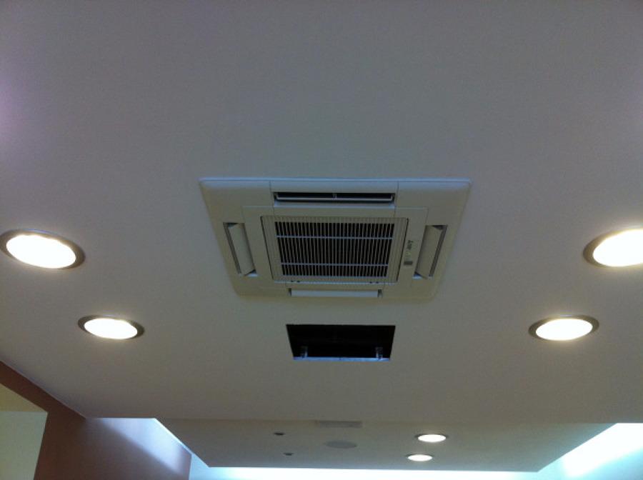 Aria condizionata a soffitto