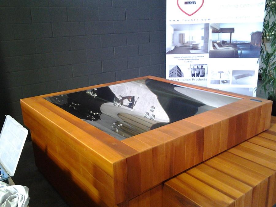 Idee e costi per la ristrutturazione integrale del bagno - Vasca bagno legno ...