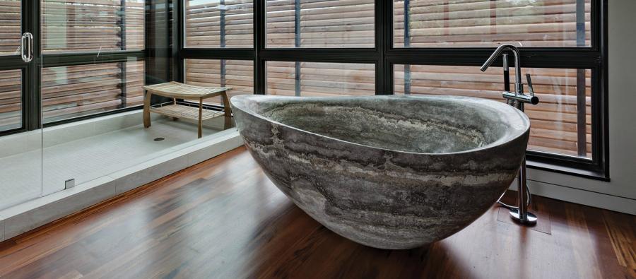 Prezzi e guida per rifare il bagno di casa habitissimo - Vasca da bagno in pietra ...