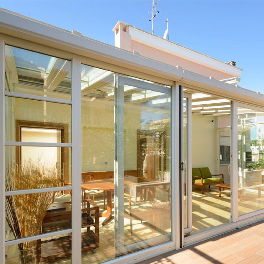 Quali sono i tipi di apertura consigliati per una veranda?