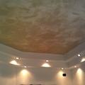 applicazione di spatula stuhhi finto marmo su soffitto