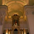 Area cupola presbiteriale nella chiesa Santa Maria del SS. Rosario