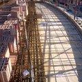 Armatura balcone faccia vista centinato.