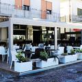 Plateatico di un Bar a Galzignano Terme