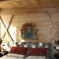 Camera da letto casa di montagna