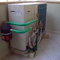 chiller aria-acqua Daikin residenziale con filtri