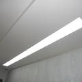 controsoffitatura con canale per luci led