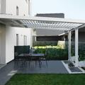copertura con lamelle in alluminio orientabili