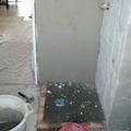 creazione di piatto doccia in muratura in fase d'opera