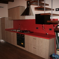 Cucina artigianale in laminato