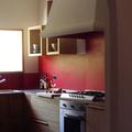 Cucina ristrutturata in un casale in campagna