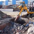 Demolizio per posa in opera di una nuova fossa biologica