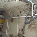 Demolizione cucina per nuove tubazioni