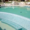 Dettaglio rivestimento piscina privata