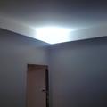Diffusore luce perimetrale con Gola in gesso raggio 25cm de La Bottega degli Stucchi