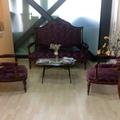 divano stile 800 e due poltrone