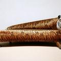 divano tigre con gambe intagliate brevetto opera unica