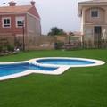Erba sintetica per bordo piscina