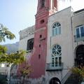Facciata posteriore chiesa Santa Maria del SS. Rosario prima del restauro