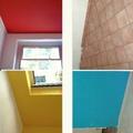 Foto di coloriture che ho eseguito in un appartamento