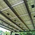 Fotovoltaico su pensilina