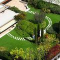 giardino pensile su terrazzo
