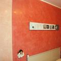 grassello di calce rosa con testata letto di altro colore