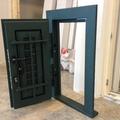 grata combinata ferro di sicurezza alluminio orientabili