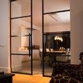 Porta vetrata salone