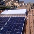 Impianto Fotovoltaico di 3KW più solere termico