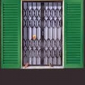 inferriata di sicurezza apribile per finestre