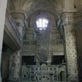 Interno chiesa Santa Maria del SS. Rosario prima del restauro
