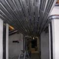 Isolamento tubazioni centrale termica