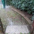 Lavaggio mattoni in tufo