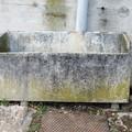 Lavaggio vasca in cemento