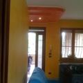 lavori di tinteggiature varie in appartamento interno di velature terre fiorentine e vari spatolati