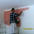 lavori pitture decorative in corso