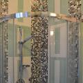 mosaico su disegno pareti doccia