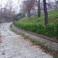 Muro di confine in pietra