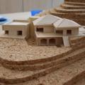 Plastico di Studio Villa con Piscina