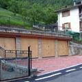 Nuove autorimesse con terrazza