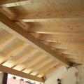 nuovo tetto in legno