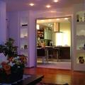 -Panoramica salone cucina-