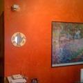 parete sala spatolato