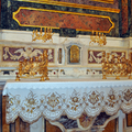 Particolare altare chiesa Santa Maria del SS. Rosario