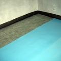 Particolare di tappetino/membrana fonoassorbente
