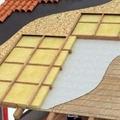Particolare di tetto ventilato